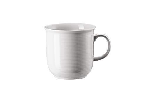 Thomas Trend Becher mit Henkel, Becher, Tasse, Kaffeebecher, Henkelbecher, Porzellan, Weiß, 15571