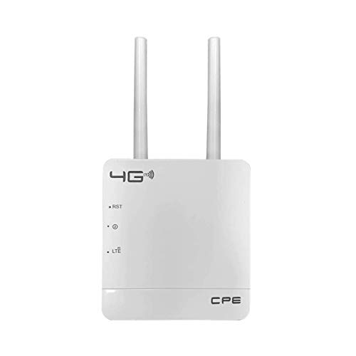 UNICAM 4G LTE SIM Router CPE WiFi Router, 4G Mobile Hotspot LAN Port Dual Antenna 4G Home Gateway with 4G/3G/2G Sim Card Support