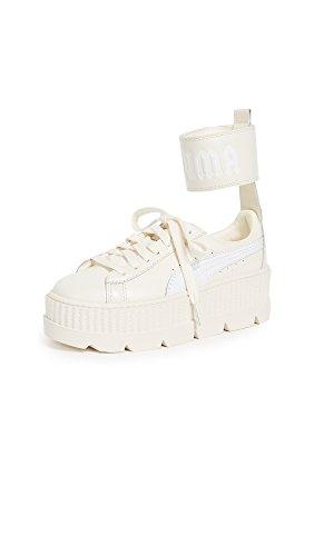Puma Fenty Damen-Sneaker mit Knöchelriemen , Weiá (Vanilla Ice/Puma White), 39.5 EU