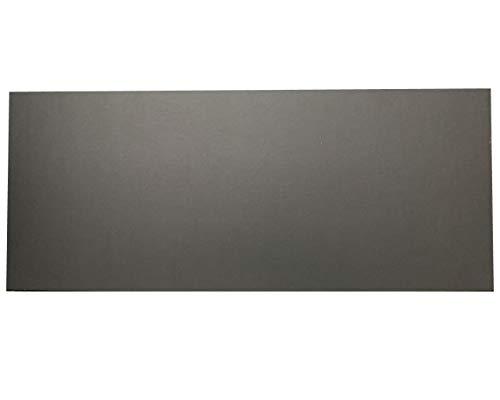 ダンボール 板 工作 アート用 カラー 両面黒色 ブラック 33cm×80cm 厚さ1.5mm 10枚セット