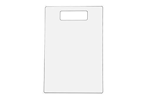 Marketing Holders Clear Acrylic Shirt Folding Board, 9 1/2' x 14'