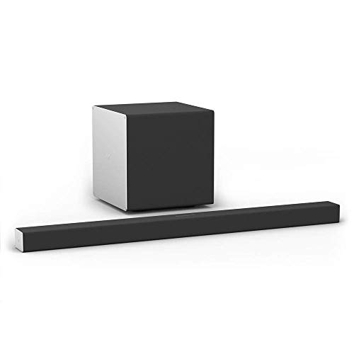 """VIZIO Sound Bar for TV, Channel Home Theater Surround Sound system for TV, Home Audio Sound Bar, 46"""" 3.1.2 with Dolby Atmos 10"""" Wireless Subwoofer, Bluetooth, SB46312-F6"""
