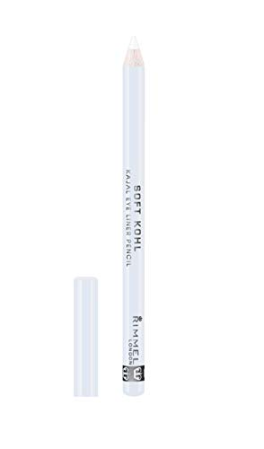 Rimmel London Soft Khol Kajal Eyeliner Pencil Liners Tono 071 Pure White - 4 gr