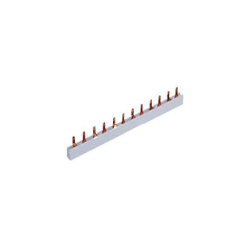 Solera P2P21610 - Peine bipolar 6x2 módulos, sección 16 mm², longitud 210 mm.