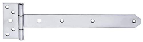 GAH-Alberts 326142 Kreuzgehänge | mit vernietetem Stift | Edelstahl | Band 292 x 34 mm | Scharnier 92 x 44 mm