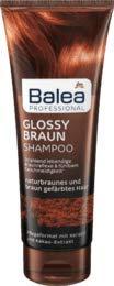 Balea Professional Shampoo Glossy Braun, 1 x 250 ml