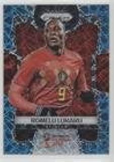 Romelu Lukaku #/125 (Trading Card) 2018 Panini Prizm World Cup - [Base] - Light Blue Lazer Prizm #20