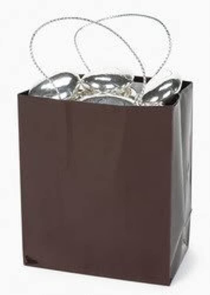 Mini Brown Gift Bag (2 dozen) - Bulk [Toy]
