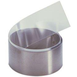 misterchef Fuerte acetato de rollo de tiras para tartas anillas 5cm x 1metros más tamaños para decoración de pasteles y Chocolate y relleno Mess Free