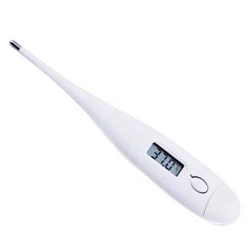 Rapid Term/ómetro digital con 2 puntos de coma memoria de medici/ón, punta flexible, apto para ni/ños y beb/és