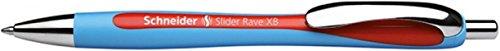 Schneider Slider Rave Retractable, Red (132502)