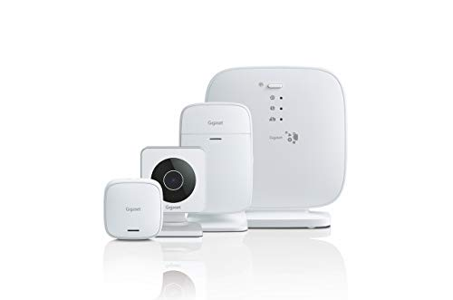 Gigaset Homecoming Pack plus (beveiligingsset ter bescherming van uw deur - alarmsysteem met deursensor, bewegingsmelder en camera - bediening via app)