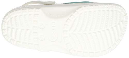 Crocs Classic Fanny Pack Clog, White/Latigo Bay