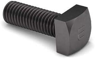 5//8-11 x 8 A307 Grade A Square Head Machine Bolt Low Carbon Steel Zinc Plated Pk 10