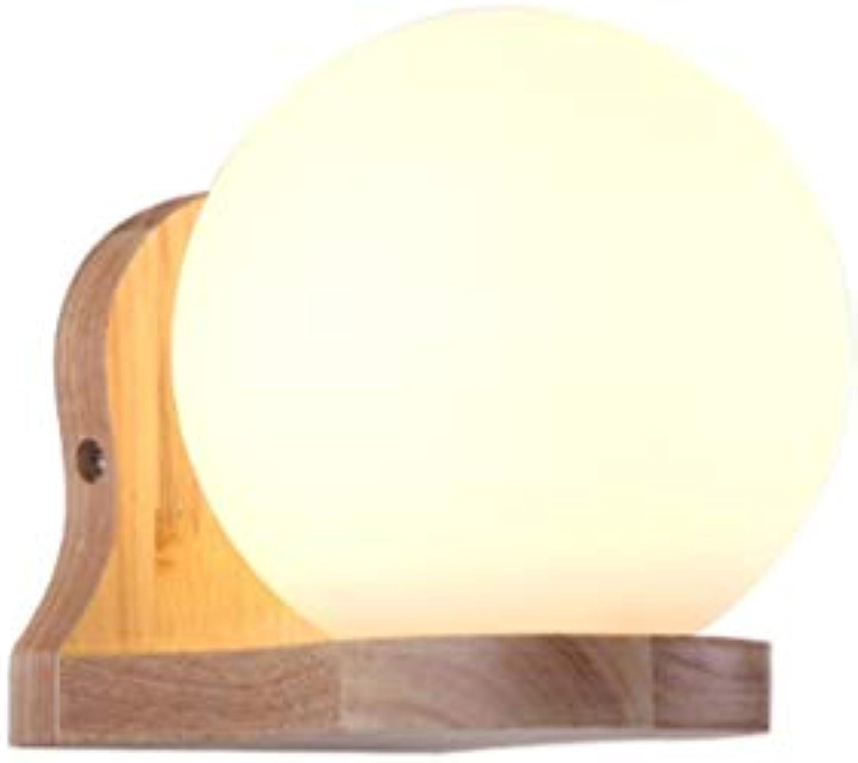 Wandleuchte, LED Wandleuchte Innenwandleuchte Moderne Massivholzleuchte Leuchten Wohnzimmer Schlafzimmer Esszimmer, E27