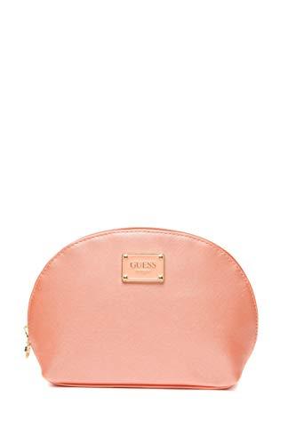 Guess Damen Kosmetiktasche Bahia Dome Pfirsich, Pink One size