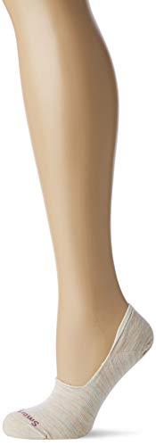 Smartwool Damen Women's Hide And Seek No Show Socken, Elfenbein (Moonbeam A81), Large