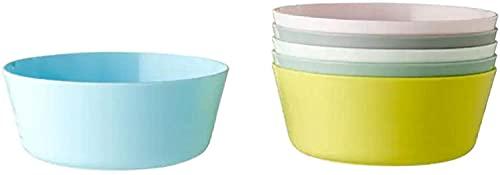 IKEA Kalas - x6 cuencos infantiles【SIN BPA】•【APTO PARA MICROONDAS Y LAVAVAJILLAS】Vajilla de niños - Colores variados - 6 unidades - 204.613.78