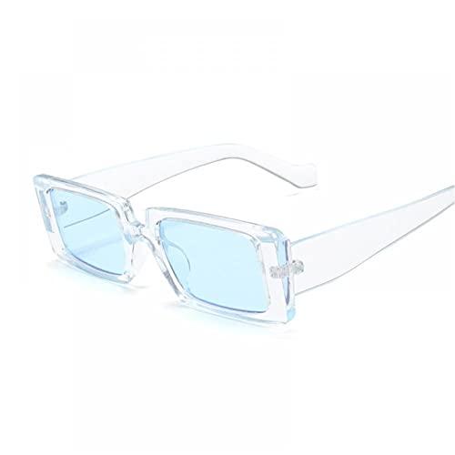 FRGH Gafas De Sol Cuadradas De Moda para Mujer, Gafas De Sol Vintage para Personalidad Masculina, Tendencia Femenina