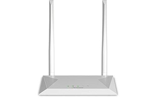 STRONG WLAN Router 300【bis 300 Mbit/s bei 2,4 GHz, LAN, WAN, WPA/WPA2, 802.11 n/b/g Wifi, 2 Antennen】weiß