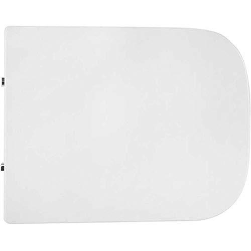 Copriwater Sedile WC COPRIVASO SLIM METROPOLITAN HIBISCUS SOFT CLOSING Bianco