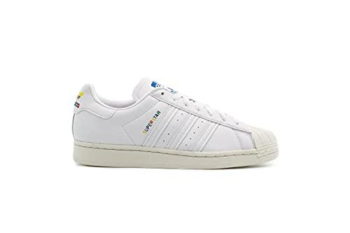 adidas Superstar, Sneaker Mujer, Cloud White/Cloud White/Off White, 36 EU
