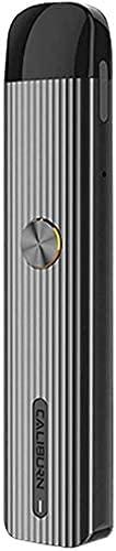 Original Uwell Caliburn G Pod System Kit 2ml Refillable Pod Cartridge 0.8 ohm coil 15W 690mAh Battery Ecig Vaporizer Vape Kit (Grey)