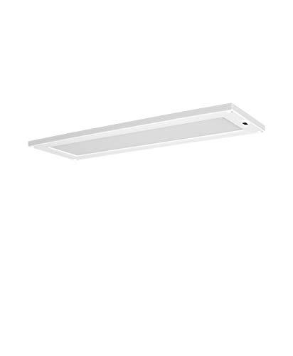 LEDVANCE LED Unterbau-Leuchte, Leuchte für Innenanwendungen, Warmweiß, Integrierter Sweep-Sensor, Länge: 30x10 cm, Cabinet LED Panel