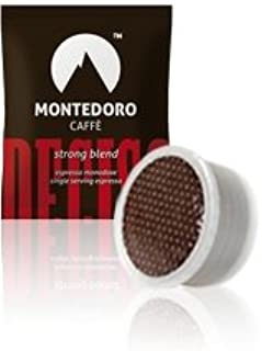 Montedoro Deciso - 100 capsule Compatible with Lavazza Point Matinee - Strong Blend