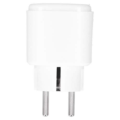 Enchufe inteligente, ABS + PC Retardante Material Enchufe inteligente Fácil de llevar Enchufe Wifi Enchufe Wifi Seguro para electrodomésticos