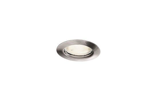 Massive 598231710 foco Recessed lighting spot Cromo GU10 Fluorescente 10 W - Punto de luz (Recessed lighting spot, GU10, 3 bombilla(s), Fluorescente, 10 W, 2700 K)