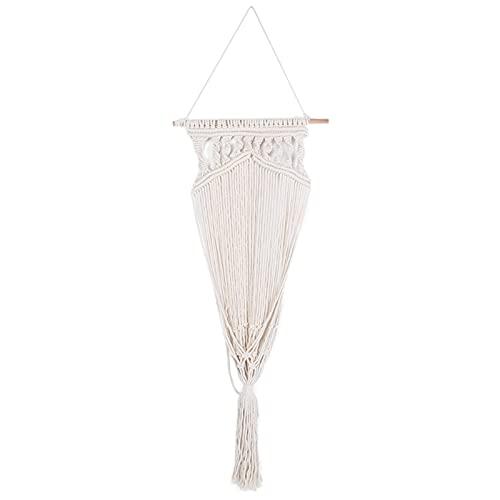BOLORAMO Columpio para Colgar, portátil, cómodo, Duradero, versátil y Elegante, Silla Colgante de Cuerda de algodón, Ligera para Exteriores