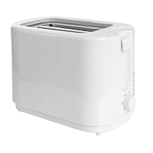 2 Slice Toaster High-Lift and Wide Slots 6 Variable Browning Stainless Steel Silver Settings Auto Shut-Off with Cancel Reheat Defrost Functions