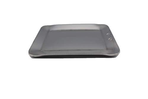 oka-d-art 黒皮鉄板 スモールタイプ 【黒皮鉄板単品 穴なし/有り 】 B6 Lタイプ用 140mm×190mm (穴有り, 4.5mm)