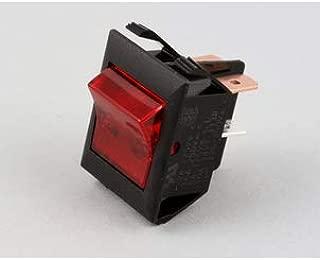 Hatco 02.19.075.00 Switch Roc DPST 22A 120 Volt Red