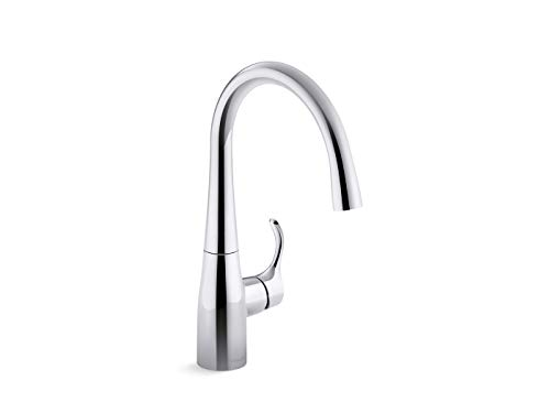 Kohler 22034-CP Simplice Kitchen Sink Faucet, Polished Ch