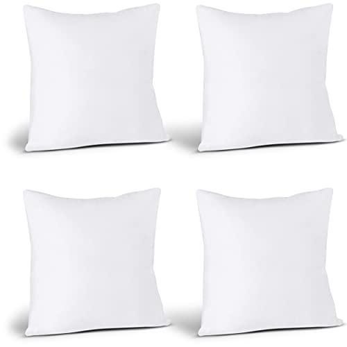 Utopia Bedding Throw Pillows Insert (Pack of 4,...