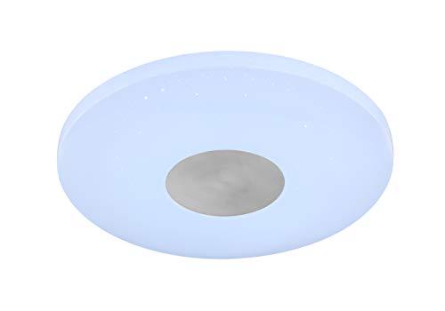 WOFI Lámpara de techo Integriert, 18 W, Weiß, Ø: 34 cm