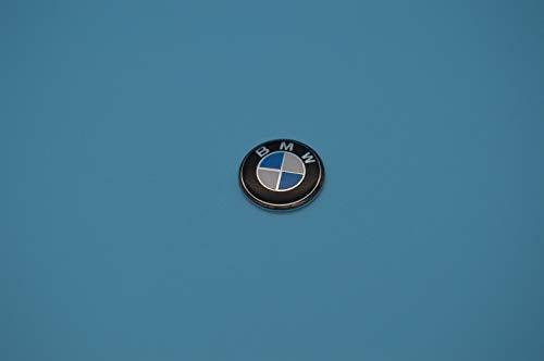 Logotipo emblema de 11mm para llave de coche fabricado en aluminio para pegar recambio original referencia 66122155754