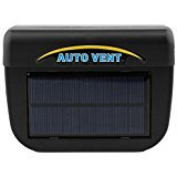 Solar Powered Car Window Windshield Auto Air Vent Cooling Cool Fan Auto Ventilator Cooler System (Auto Vent)