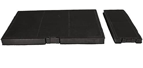 DREHFLEX - AK138-2 - Kohlefilter/Aktivkohlefilter - kompatibel für Bosch / Siemens / Gagexakt/ Neff 11018700 Dunstabzugshaube