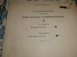 Rachmaninoff Prelude in G Minor Op.23, No.5 (Rachmaninoff Op 23 No 5 Sheet Music)