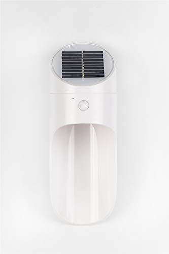 JDD Body Sensor LED Solar Outdoor Veiligheid wandlamp 6V spanning 2W Nominaal vermogen Draadloos IP65 waterdicht nachtlampje voor tuin, patio, omheining