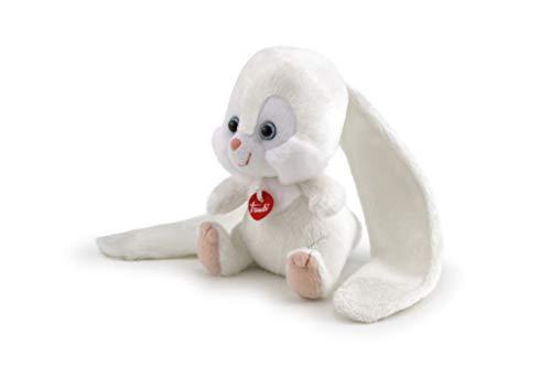 Trudi- Orecchiotti Coniglio Peluche Mini, Colore Bianco, 52202