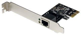 StarTech.com PCI Express Gigabit Ethernet Netzwerkkarte, PCIe Server NIC Netzwerkadapter 10 / 100 / 1000 Mbit/s, Full/Low Profile