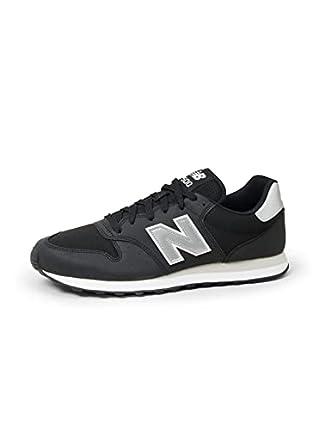 New Balance Gm500v1', Zapatillas Hombre, Black/Silver, 43 EU