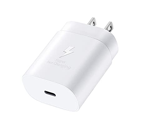 USB Type C Fast Charger Block Compatible Samsung Galaxy S21/ S21+/ S21 Ultra 5G / Note10 /Note 20 /S20 / Plus iPhone 11 12 /Mini/Pro/Max, 25W Super Fast PD Power Adapter