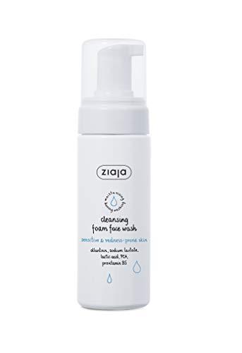 Ziaja Limpiador Facial en Espuma, para Pieles Sensibles y Propensas Al Enrojecimiento 150Ml 150 ml