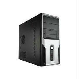 Apex Case TX-388 microATX Mini Tower Black/Silver 300W 2/2/(4) Bays USB HD AUDIO FAN Electronics