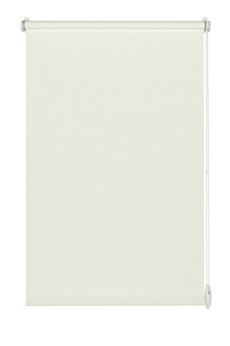 GARDINIA Rollo zum Klemmen oder Kleben, Tageslicht-Rollo, Blickdicht, Alle Montage-Teile inklusive, EASYFIX Rollo Uni, Weiß, 100 x 150 cm (BxH)